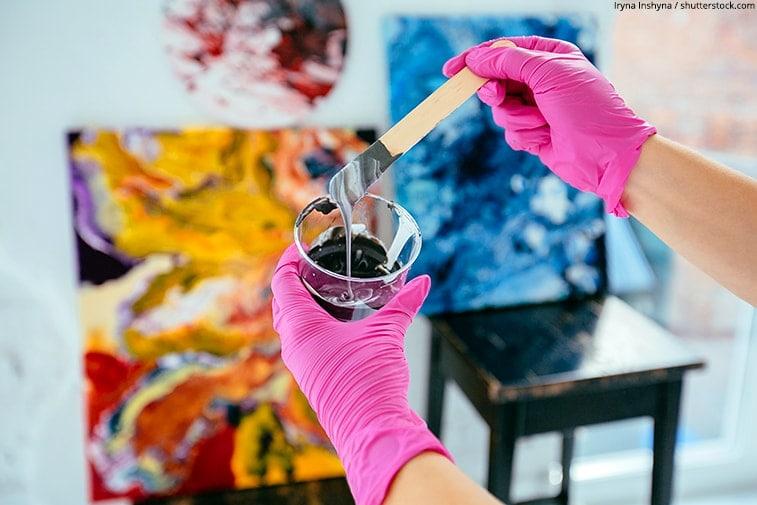 paint pour art