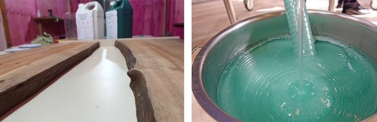 epoxy resin table top