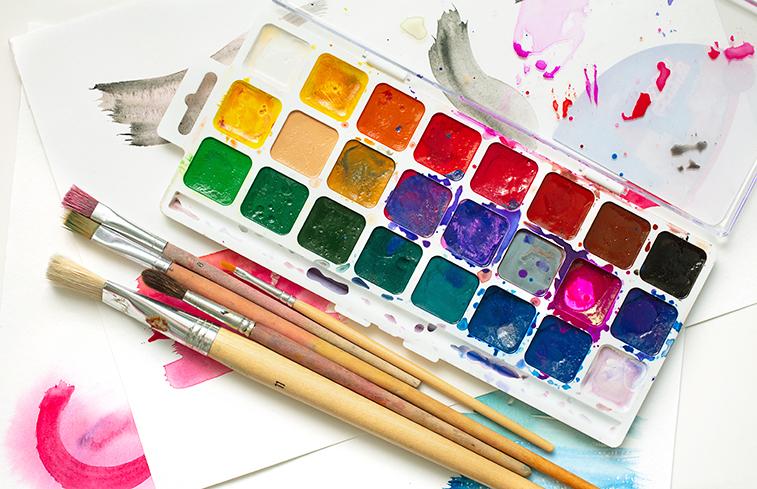 aquarell farbkasten