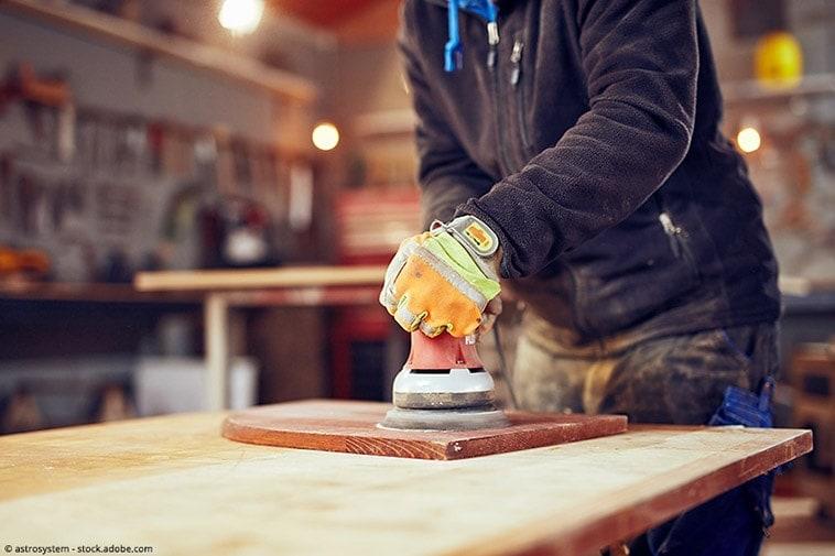 sanding epoxy resin