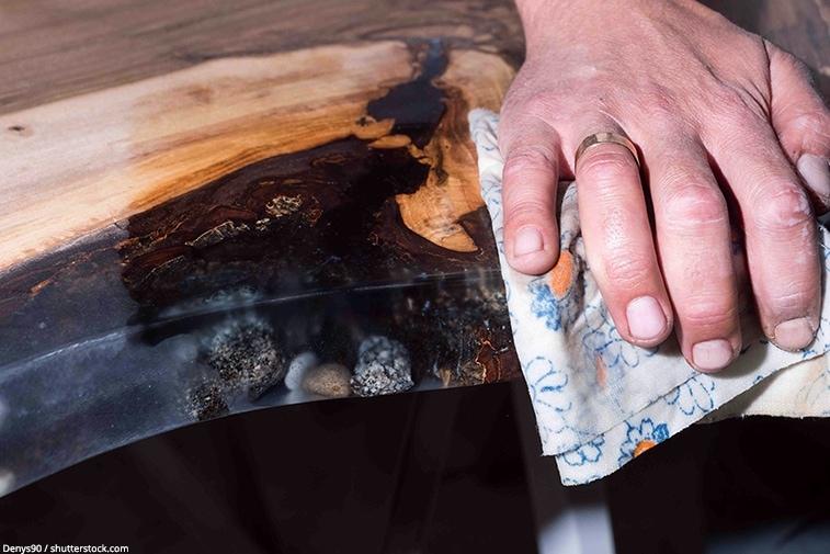 bois resine epoxy