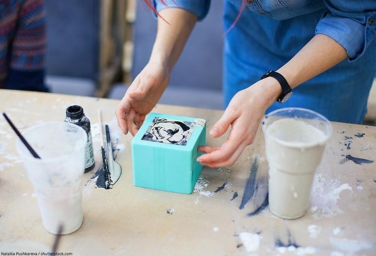 creare stampi in silicone per resina