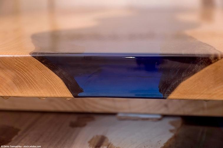 resine epoxy pour table