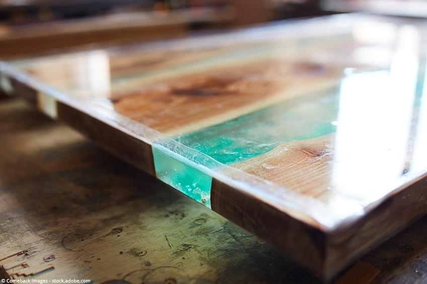 epoxy op hout