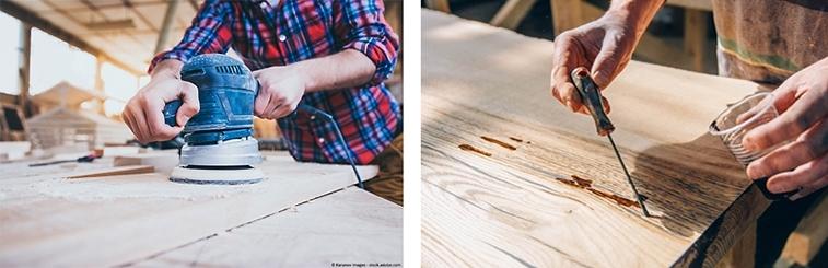epoxy river table selber bauen