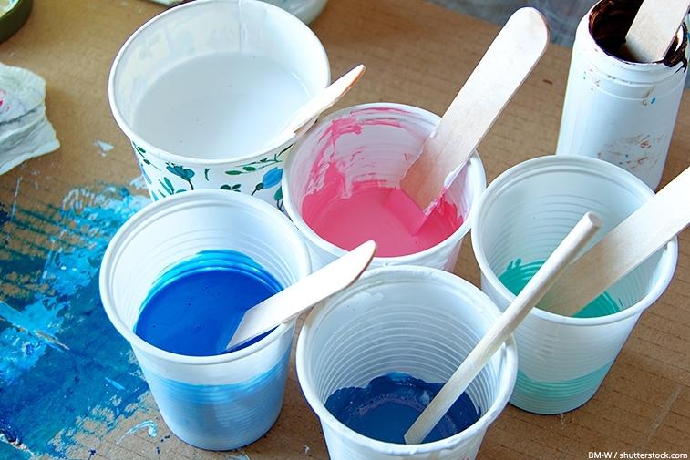 fabriquer medium de lissage-acrylique