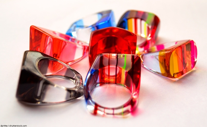 résine epoxy bijoux