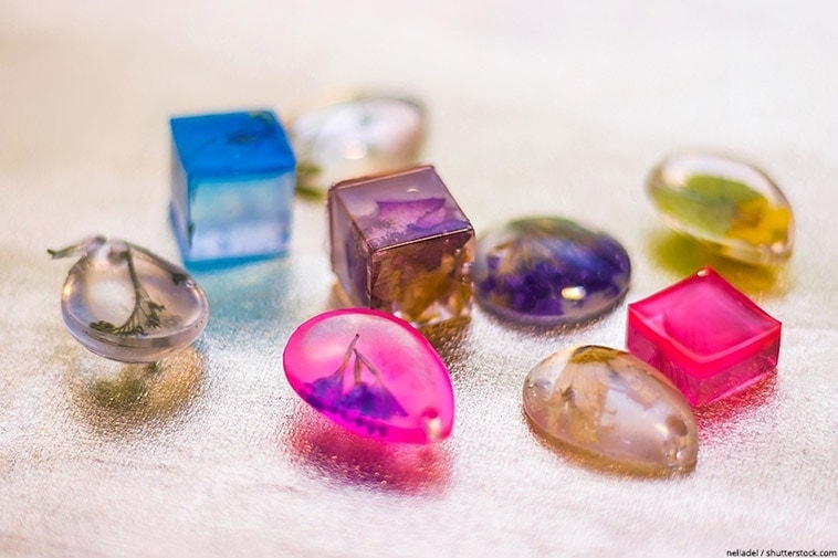 resine uv pour bijoux