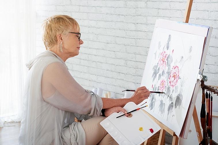 dipingere ad acquerello