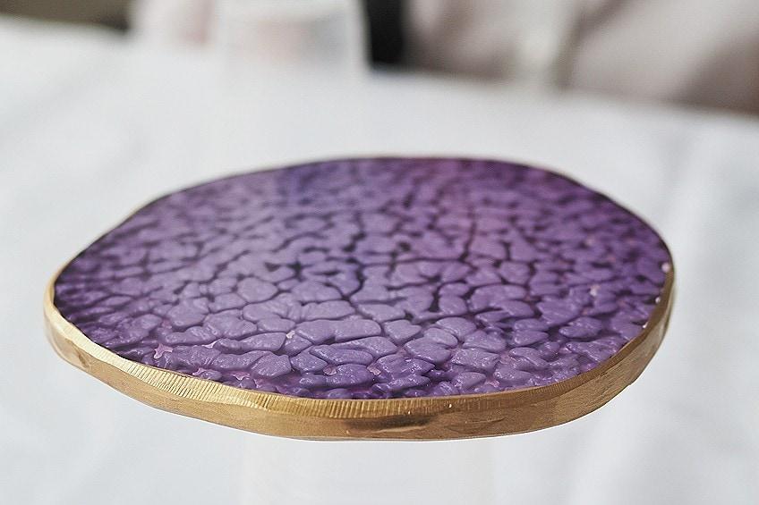 Geode Resin Coaster