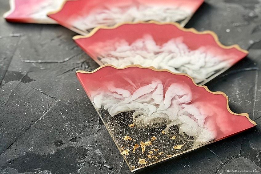 Irregular Resin Coaster