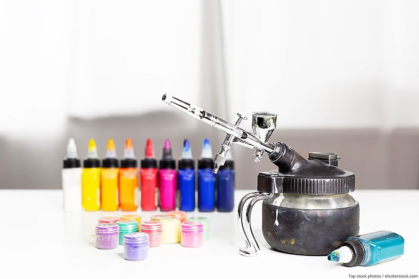 How to Thin Enamel Paint for Airbrush