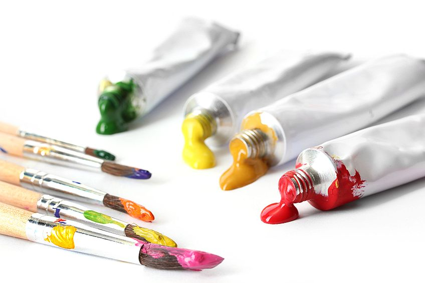 Acrylic Paint Set Tubes