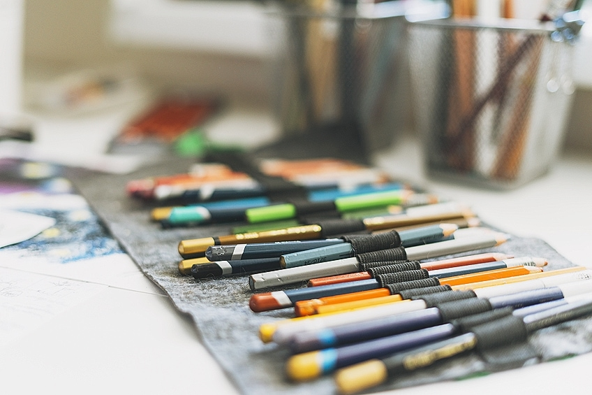 Oil Pastel Pencils
