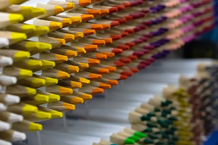 Pastel Colored Pencils