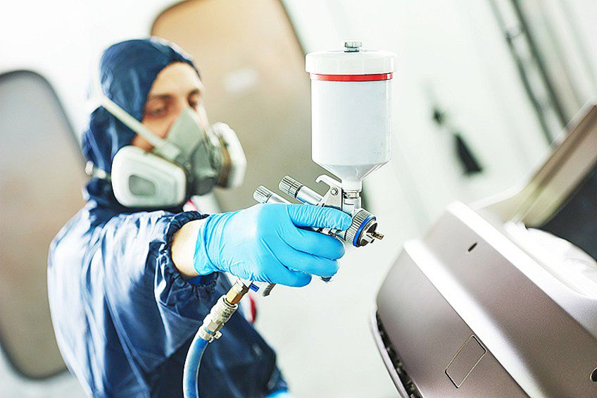 Varnish Spray Gun