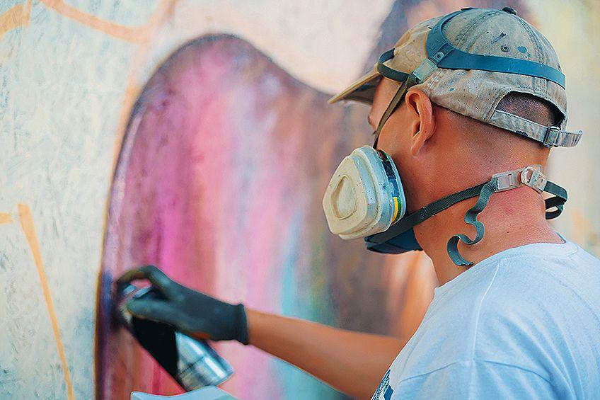 How to Do Spray Paint Art