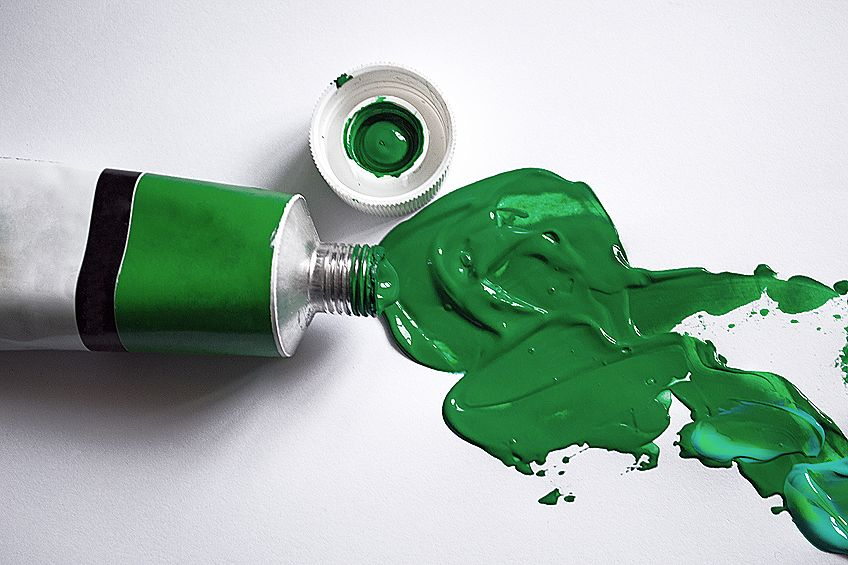 How to Make Forest Green Paint