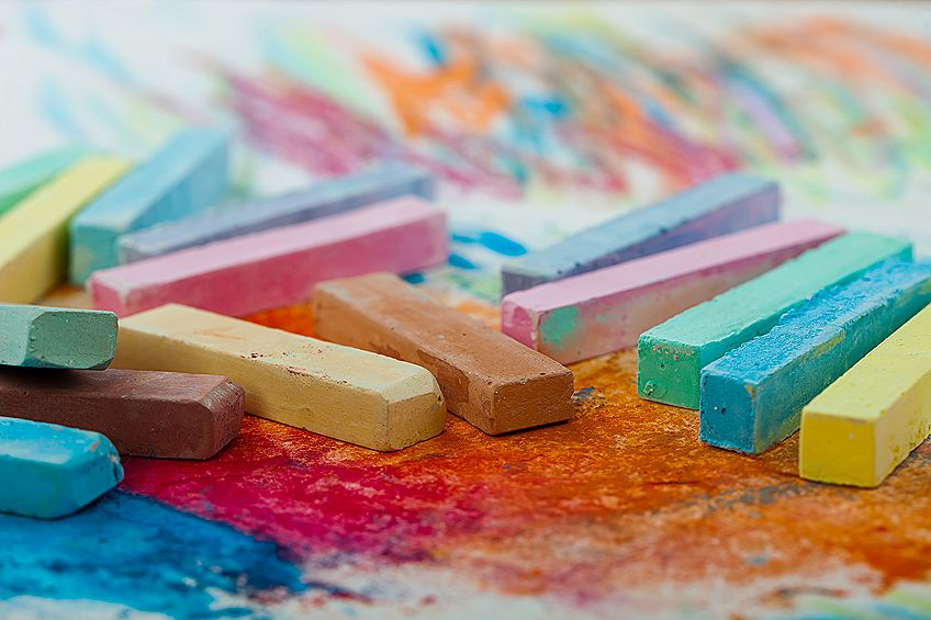 Oil Pastel Canvas