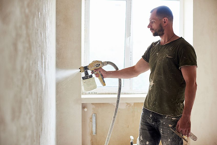 Using a Wall Paint Sprayer