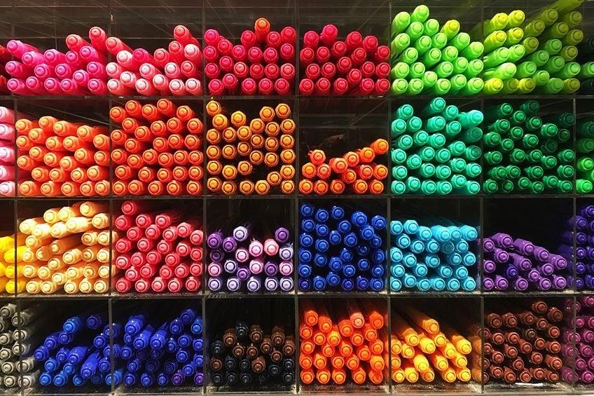 Copic Marker Set Colors