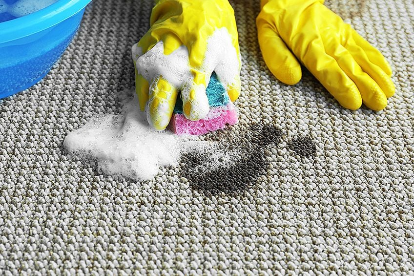How to Remove Acrylic Paint from Carpet with Soap and Water