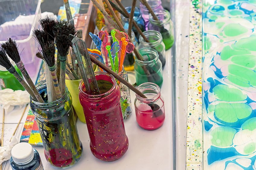 Paints for Wine Glasses