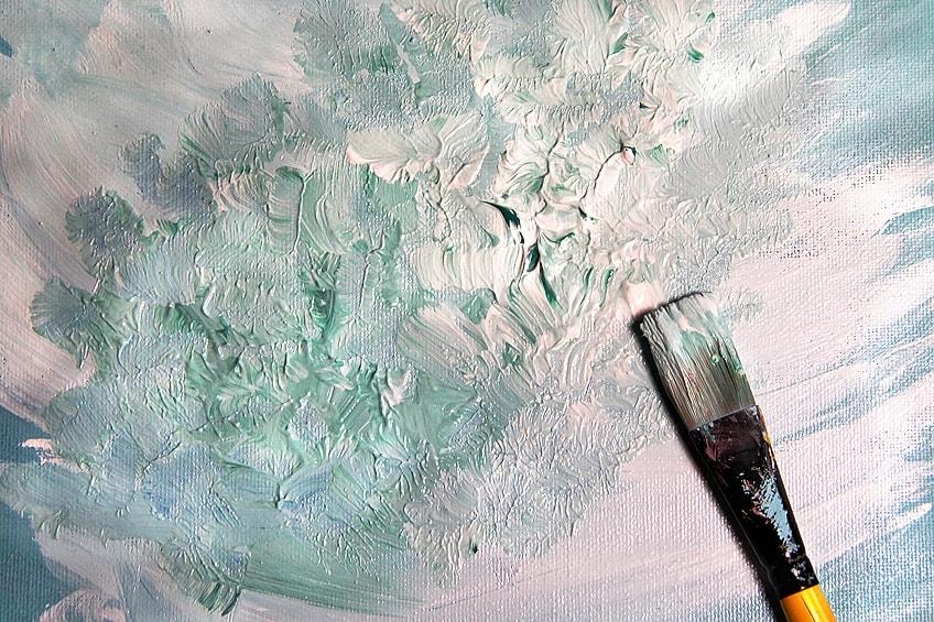 Using an Oil Paint Medium