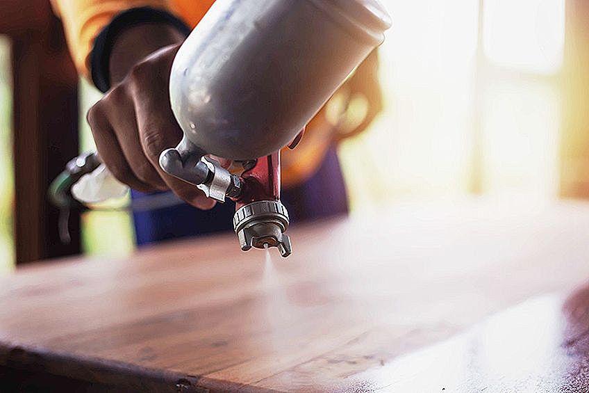 Furniture Paint Spraying
