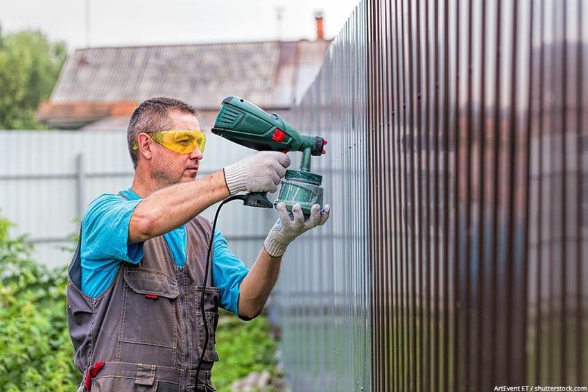 Protection for Air Spray Gun