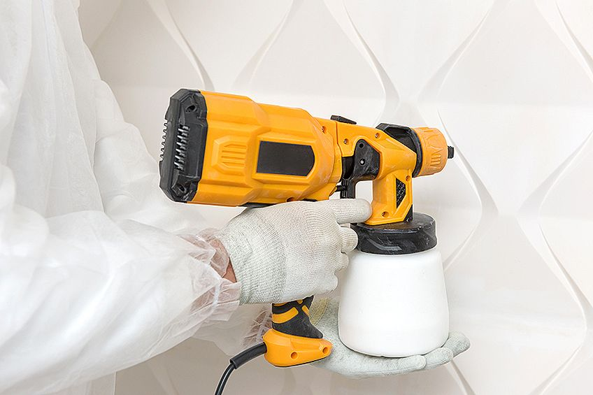 Siphon-Feed Furniture Paint Sprayer