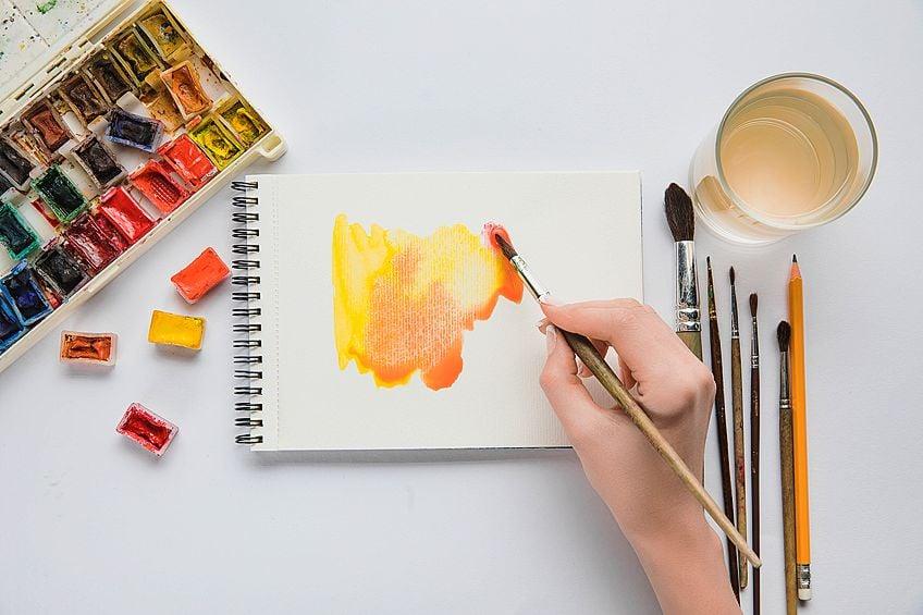 Watercolor Book Paper