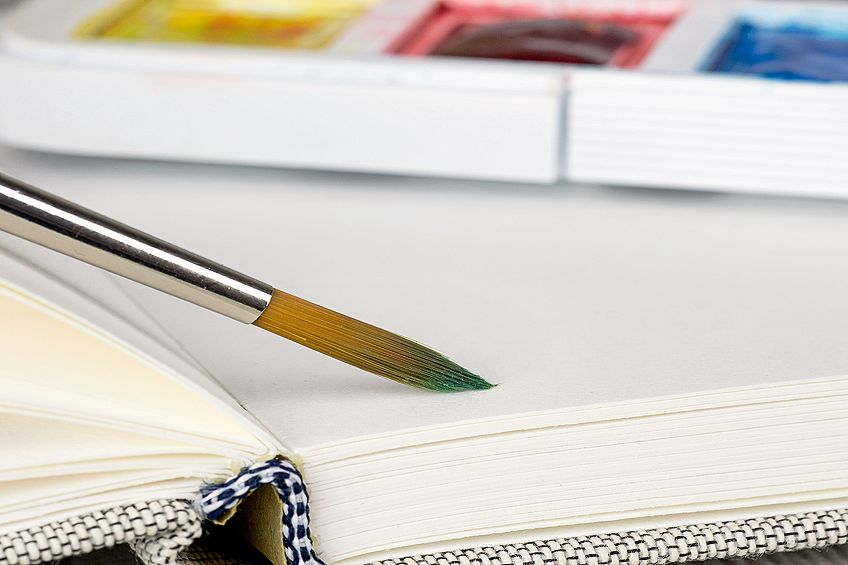 Watercolor Book