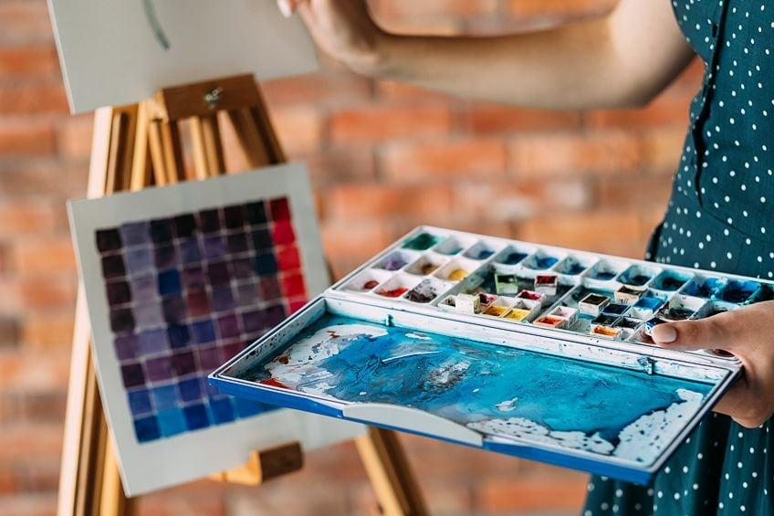 Watercolor Canvas Art
