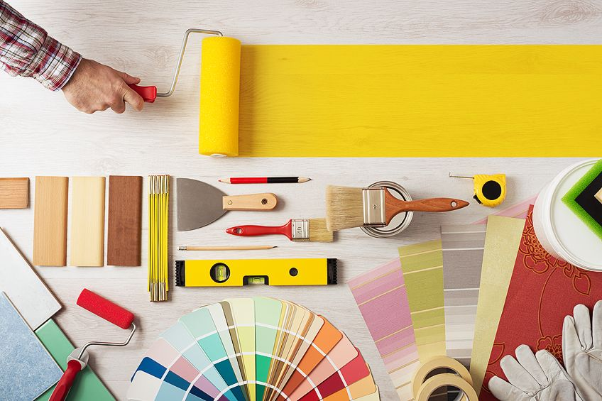 What You Need for Wood Painting