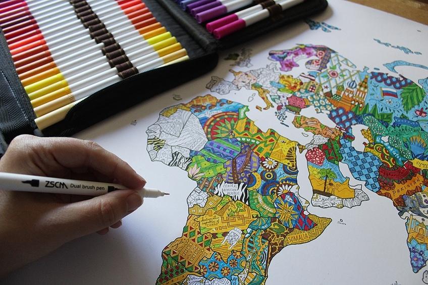 Fineliner Artist Markers