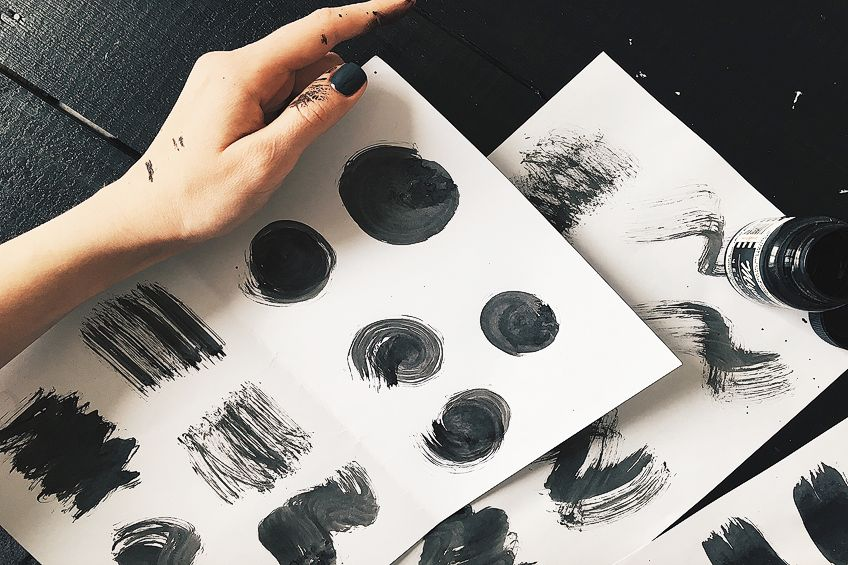 How Do You Make Black With Watercolors