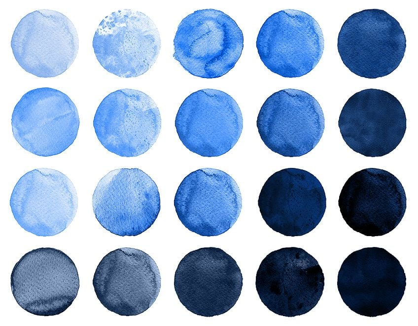 How to Make Blue Paint