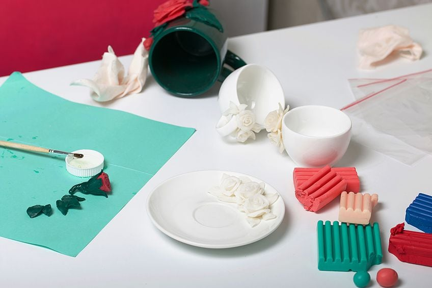 Instructions for Painting Polymer Clay