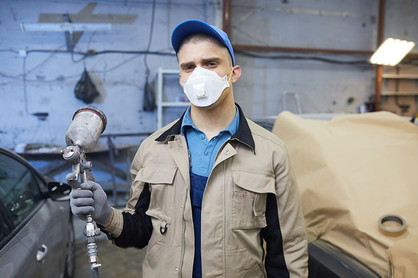 Top Respirator for Painting